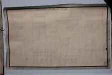 Architettura+disegno a China+Palazzo Pandolfini in Firenze+ 19° secolo