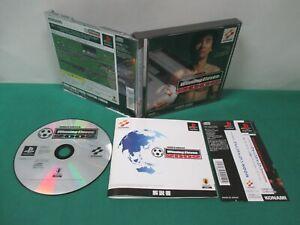 PlayStation -- WORLD SOCCER WINNING ELEVEN 2002 -- PS1. JAPAN. GAME. WORK. 36999