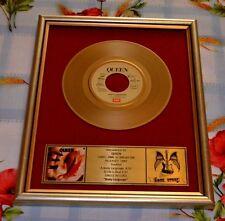 QUEEN  bild single 7'' schallplatte GOLD Fanartikel & Merchandise