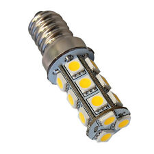HQRP Bombilla LED Base de tornillo Edison E14 Blanco cálido 3100K 10-30V CC