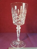 Large Vintage Galway Crystal Wine Glass Signed On The Base.VGC