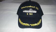 Bundesmarine Baseballcap Unterseeboot U32 S182 Kapitän NEU 100% Baumwolle