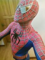 New 2017 Toby Amazing Spiderman Adult Costume Spandex Zentai Suit Tight Cosplay