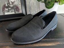 Duke + Dexter Men's Pyramid Black Loafer Slippers Size 10 Made In England $275