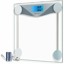 Etekcity Digital Body Weight Bathroom Scale, 400 Pounds Scales, Silver