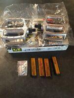 """NOS Old School GT BMX Platform Pedals 1/2"""" Silver Elite Pro Series XL Cruiser"""