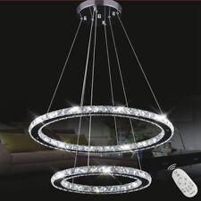 LED CRISTALLO dimmerabile luce a sospensione plafoniera lampadario