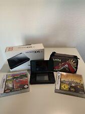 Nintendo DS Schwarze Edition Schwarz Handheld-Spielkonsole (PAL)