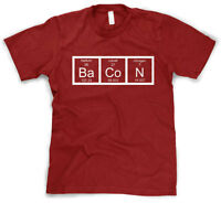 Creeper The Chemistry Of Bacon T Shirt Funny Periodic Table Tee For Babies