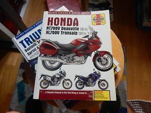 NEW - Haynes Manual 5541 - Honda NT700V Deauville & XL700V Transalp, '06 to '13