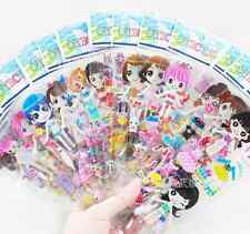 50PCs Wholesale Princess Dress Up Scrapbooking Stickers Children Girl Gift