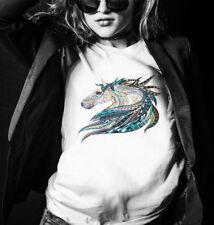 PET Bügelbilder Pferd Applikation T-shirt Transfer Transferfolie Pony Tribal