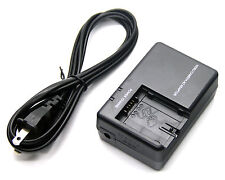 AC Battery Charger for Panasonic VDR-D250E VDR-D258 VDR-D300 DR-D300E VDR-D308