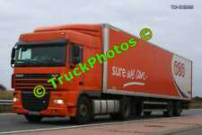 Truck Photo TR-00355 DAF XF Reg:- 3806HFM Op:- TNT M20 Dover Lorry Kent