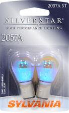 Sylvania Silverstar 2057AST BP Amber Brake Light - Pair Bulk Packed
