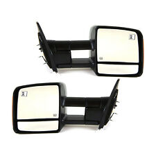 🔥 Genuine OEM Pair Set of 2 Power Towing Mirrors for Toyota Tundra 2009-2018 🔥