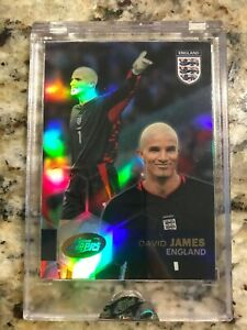 2004 ETOPPS DAVID JAMES Soccer English Football England 1355 print run