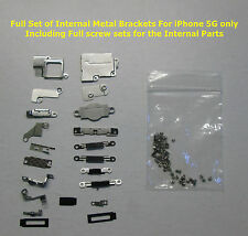 iPhone 5 Internal Small Metal Pieces / Brackets Replacement Parts + Screw Set