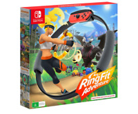 Ring Fit Adventure Nintendo Switch Console Brand New Fitness Game Free Delivery