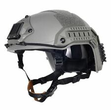 AIRSOFT OPS GREEN OD FG SWAT TACTICAL MARITIME ABS HELMET JUMP RAIL L/XL
