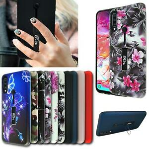 """For Huawei Nova 5T, (6.26"""") Shockproof Ring Armour TOUGH Heavy Duty Phone Case"""