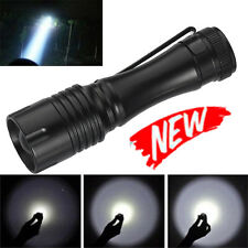 Tactical Cree Q5 ZOOMABLE 14500 5000LM LED 3 Modes Police Flashlight Torch Lamp