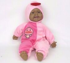 "Cute Laughing Baby Pink Bird Realistic Plush Toy Doll Life Size 16"" New"