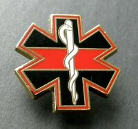 FIREFIGHTER FIRE FIGHTER EMT EMS PARAMEDIC HONOR BADGE LAPEL PIN 1 INCH