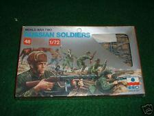 Esci HO 1/72  WW2 Russian Infantry Silver Box RARE