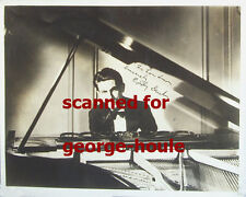 EDDY DUCHIN - PHOTOGRAPH - AUTOGRAPH - PIANIST- - TYRONE POWER -DIED AGE 40