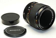 KONICA Objektiv MACRO-HEXANON AR 3,5/55 - 3,5 F= 55mm für KONICA