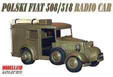 POLSKI FIAT 508/518 RADIO CAR (POLISH ARMY 1939 MARKINGS) 1/35 MODELLAND