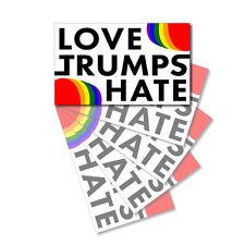 Automobilia NSI Classic Hippie LGBT Gay Rainbow Pride Die-Cut Wall Window Auto Decal STICKER Decals & Stickers