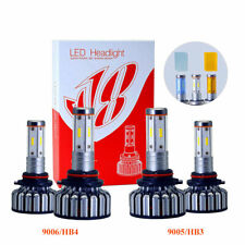 9006+9005 for Toyota Camry 1995-2006 LED Headlight Kits Lo/Hi Beam lights Bulbs