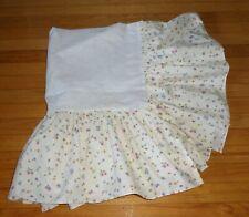 Disney Winnie The Pooh Hunny Pots Crib Dust Ruffle Crib Skirt Vintage