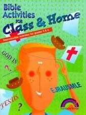 BIBLE ACTIVITIES FOR CLASS AND HOME -- GRADES 3 & 4-ExLibrary