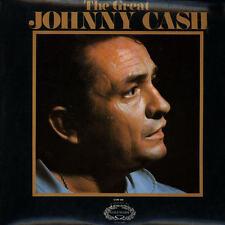 "12"" LP Johnny Cash The Great Johnny Cash (Transfusion Blues) Hallmark Records"