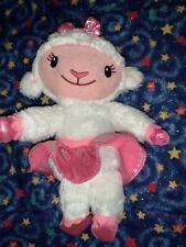 "Ty Beanie Babies Disney Doc McStuffins 7"" Lambie Beanbag Plush Stuffed Toy"