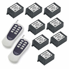 RF 24V 8X1CH Relay Wireless Smart Remote Control Switch Home&Ind Transmitter