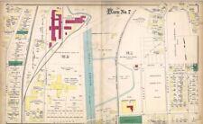 1885 MALDEN, MA, BOSTON RUBBER SHOE CO., aka CONVERSE SNEAKERS, PLAT ATLAS MAP