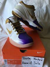 Nike Kobe 2009 Zoom IV 4 'MLK' Lakers , Size 11, DS