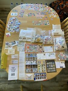 My Stamp Collection of 30+ years!!!!  RARE-Valuable-Worldwide-1000's of STAMPS!