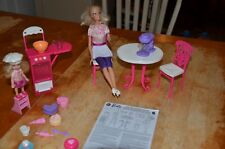 Barbie Doll Kelly Doll I can be a Baker; Cooking Kitchen Food