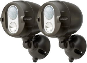 Mr. Beams MBN352 Networked LED Wireless Motion Sensing Spotlight System with