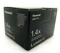 New Panasonic DMW-TC14 1.4X Teleconverter for 200mm f2.8 and 50-200mm f2.8-4.0