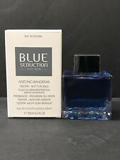 Blue Seduction By Antonio Banderas 3.4 oz/ 100ml EDT Spray For Men - Same as pic