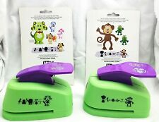 McGill DOG and MONKEY Animal Punch Lot of 2 - Scrapbooking Cardmaking Crafts