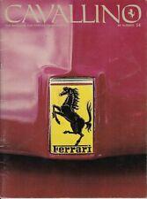 Cavallino Magazine, Issue # 14, 250 275 330 365 512 246 DINO