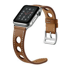 Leather Single Tour strap For Apple Watch 4 5 band 44mm 40mm 42/38mm iwatch band