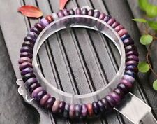 Natural Purple Sugilite South Africa Gems Round Beads Bracelet AAA 7mm